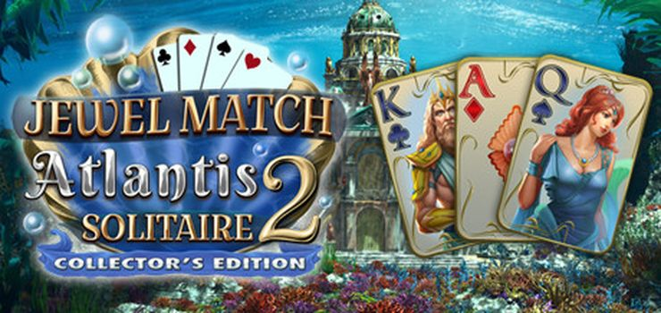 Jewel Match Atlantis Solitaire 2 Collector's Edition full pc game